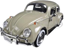 1966 Volkswagen Beetle Beige 1/24 Diecast Model Car Motormax 73223 bg