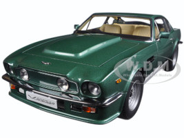 1985 Aston Martin V8 Vantage Forest Green 1/18 Diecast Model Car Autoart 70224