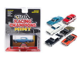 Mint Release 2 Set C Set of 6 cars 1/64 Diecast Model Cars Racing Champions RC002C