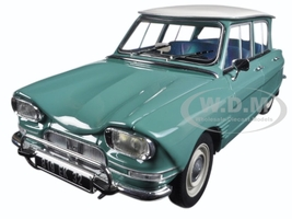 1964 Citroen Ami 6 Jade Green 1/18 Diecast Model Car Norev 181536