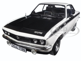 1975 Opel Manta GT/E White 1/18 Diecast Model Car Norev 183634