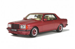 Mercedes AMG 500 CE Brillant Red Limited Edition to 2000pcs 1/18 Model Car Otto Mobile OT641