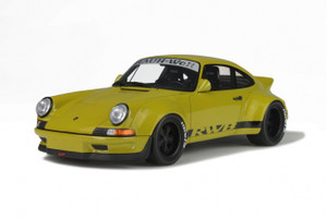 Porsche 911 (930) RWB Metallic Yellow Limited Edition to 3000pcs 1/18 Model Car GT Spirit GT120