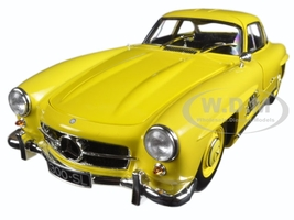 1954 Mercedes 300 SL Gullwing W198 I Yellow Limited Edition 1/18 Diecast Model Car Minichamps 80039009