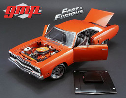 "1970 Plymouth Road Runner Copper ""The Hammer"" Furious 7 Movie 2015 Limited Edition 1/18 Diecast Model Car GMP 18807"