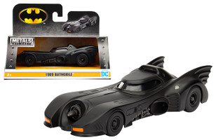 1989 Batman Batmobile 1/32 Diecast Model Car Jada 98226