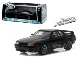 "1989 Nissan Skyline GT-R (R32) Fast and Furious ""Fast 7"" Movie (2015) 1/43 Diecast Model Car Greenlight 86229"