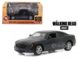 "Daryl Dixon's 2006 Dodge Charger Police ""The Walking Dead"" TV Series (2010-Current) 1/43 Diecast Model Car Greenlight 86505"