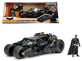 2008 The Dark Knight Tumbler with diecast Batman Figure 1/24 Diecast Model Car Jada 98261