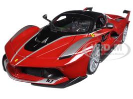 Ferrari FXX-K #10 Red 1/18 Diecast Model Car Bburago 16010