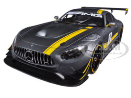 Mercedes AMG GT3 Presentation Car Grey #1 1/18 Model Car Autoart 81530
