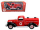 """1940 Ford Tanker """"Texaco"""" Red 1/18 Diecast Model Car Beyond Infinity 0605"""