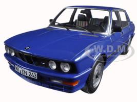 1987 BMW M535i Blue Metallic 1/18 Diecast Model Car Norev 183267