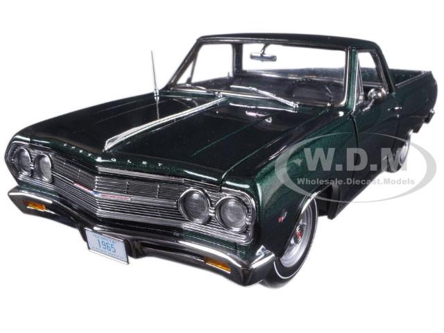 1965 Chevrolet El Camino Cypress Green Limited Edition to 426pcs 1/18 Diecast Model Car Acme A1805408