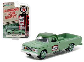 1967 Dodge D-100 Texaco Pickup Truck 1/64 Diecast Model Car Greenlight 41010