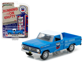 1972 Ford F-100 Chevron Pickup Truck 1/64 Diecast Model Car Greenlight 41010