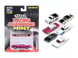 Mint Release 2017 Set A Set of 6 cars 1/64 Diecast Model Cars Racing Champions RC003A