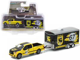 2015 Ford F-150 and Terlingua Racing Trailer Hitch & Tow Series 9 1/64 Diecast Model Car Greenlight 32090