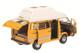 "1979-1990 Volkswagen T3 ""Joker"" Camping Bus Yellow with High Roof 1/18 Diecast Model Car Schuco 450038500"