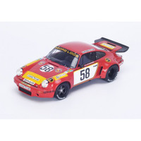 Porsche 911 RSR #58 1975 Lemans 5th 1/18 Model Car Spark 18S165
