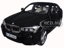 BMW X4 (F26) Sapphire Black 1/18 Diecast Model Car Paragon 97094