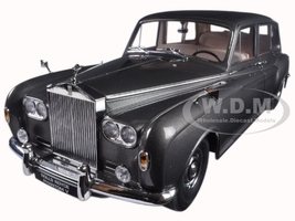 1964 Rolls Royce Phantom V MPW Gunmetal Grey LHD 1/18 Diecast Model Car Paragon 98214