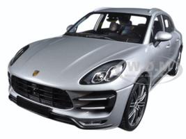 2013 Porsche Macan Turbo Silver Limited Edition to 504pcs 1/18 Diecast Model Car Minichamps 110062504