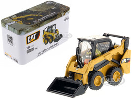 CAT Caterpillar 242D Compact Skid Steer Loader with Operator High Line Series 1/50 Diecast Model Diecast Masters 85525