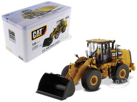 CAT Caterpillar 950M Wheel Loader with Operator High Line Series 1/50 Diecast Model Diecast Masters 85914
