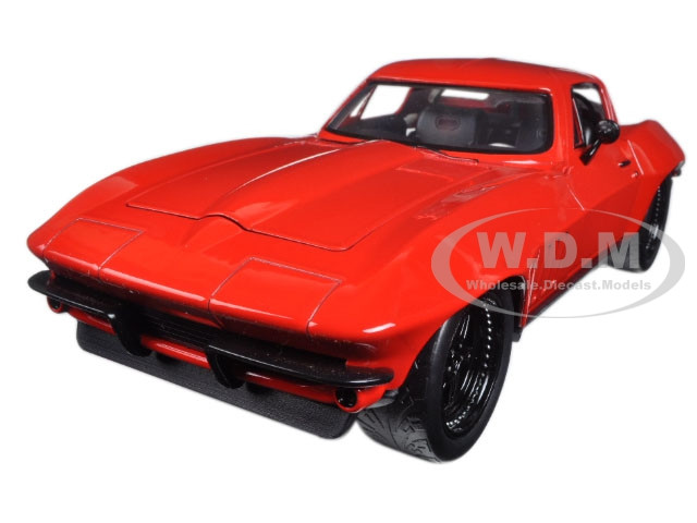 """Letty's Chevrolet Corvette Fast & Furious F8 """"The Fate of the Furious"""" Movie 1/24 Diecast Model Car Jada 98298"""