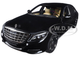 Mercedes Maybach S Class S600 Black 1/18 Model Car Autoart 76293