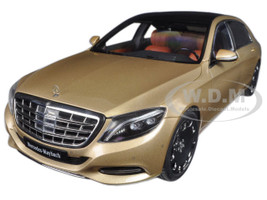 Mercedes Maybach S Class S600 Champagne Gold 1/18 Model Car Autoart 76294