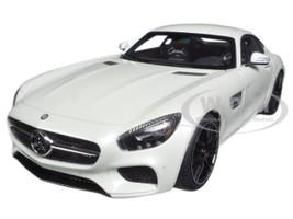 Mercedes AMG GT S Designo Diamond White Bright 1/18 Model Car Autoart 76311