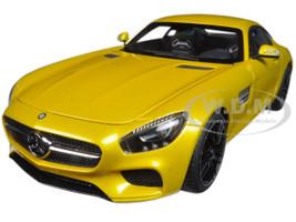 Mercedes AMG GT S Solarbeam Yellowish Orange 1/18 Model Car Autoart 76314