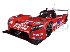 Nissan GT-R LM Nismo Lemans 2015 O. Pla, J. Mardenborough, M. Chilton #23 1/18 Model Car Autoart 81578