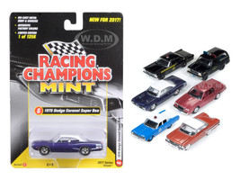 Mint Release 2017 Set C Set of 6 cars 1/64 Diecast Model Cars Racing Champions RC003