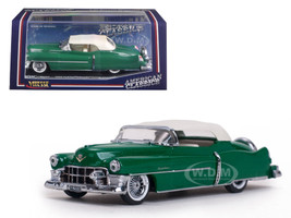 1953 Cadillac Closed Convertible Glacier Green 1/43 Diecast Model Car Vitesse 36267