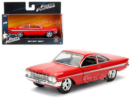 "Dom's Chevrolet Impala Red Fast & Furious F8 ""The Fate of the Furious"" Movie 1/32 Diecast Model Car Jada 98304"