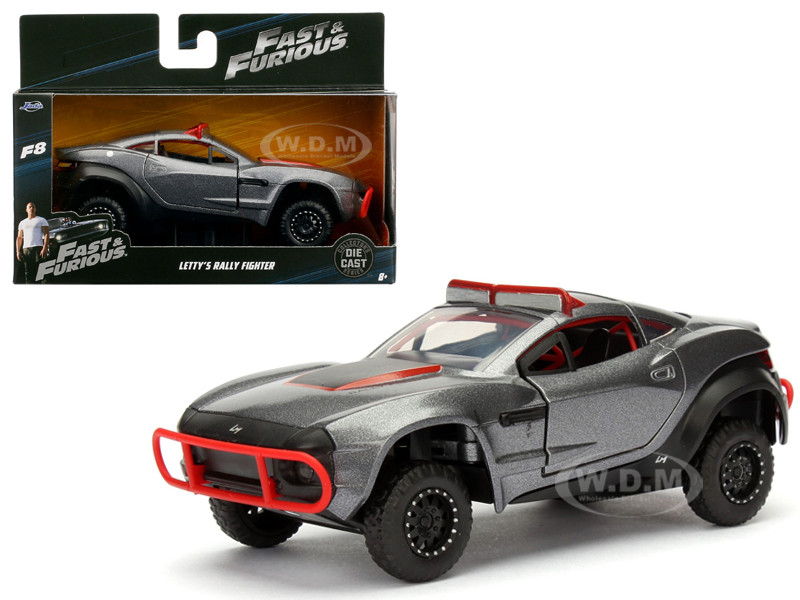 """Letty's Rally Fighter Fast & Furious F8 """"The Fate of the Furious"""" Movie 1/32 Diecast Model Car Jada 98302"""
