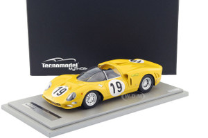 Ferrari 365 P2 Car #19 Team Ecurie Francorchamps Test Le Mans 1966 Driver Jean Beaurly's/ Leon Dernier/ Jacky Ickx Limited Edition to 100pcs 1/18 Model Car Tecnomodel TM18-20G