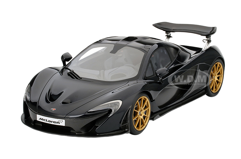 2014 Mclaren P1 Gotham Black Limited to 300pcs 1/12 Model Car True Scale Miniatures TSM161204