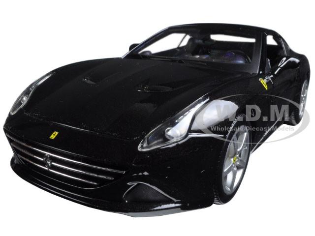 Ferrari California T (closed top) Black 1/18 Diecast Model Car Bburago 16003
