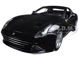Ferrari California T (closed top) Black 1/18 Diecast Model Car Bburago 16003