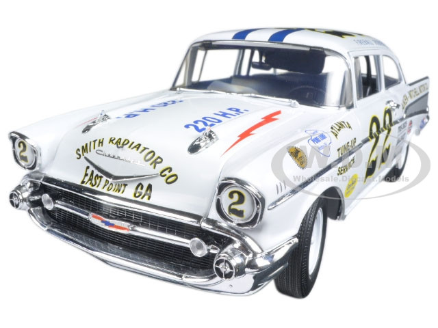 1957 Chevrolet Bel Air #22 Driver: Fireball Roberts Limited Edition 1/18 Diecast Model Car Acme A1807002