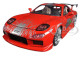 "Dom's Mazda RX-7 Red ""Fast and Furious"" Movie 1/24 Diecast Model Car Jada 98338"