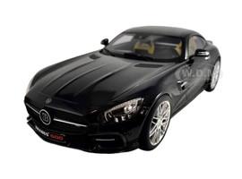 Brabus 600 AUF Basis Mercedes AMG GT S 2015 Black 1/18 Model Car Minichamps 107032520