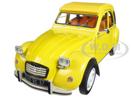 1979 Citroen 2CV 6 Club Mimosa Yellow 1/18 Diecast Model Car Norev 181496