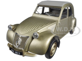 1950 Citroen 2CV A Gold 1/18 Diecast Model Car Norev 181497