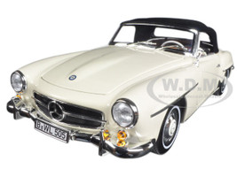1957 Mercedes 190 SL Beige 1/18 Diecast Model Car Norev 183539