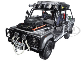 Land Rover Defender Tomb Raider Edition Corris Grey 1/18 Model Car Kyosho KSR08902TR